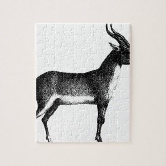 Saiga Antelope Jigsaw Puzzle