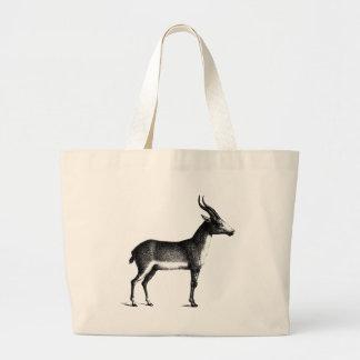 Saiga Antelope Large Tote Bag