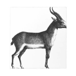 Saiga Antelope Notepad