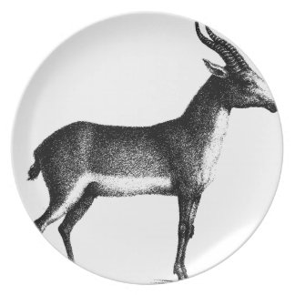 Saiga Antelope Plate