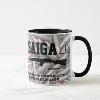 Saiga Rifle Coffee Mug