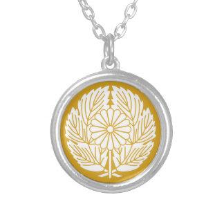 Saigo prosperity silver plated necklace