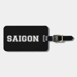 Saigon Luggage Tag
