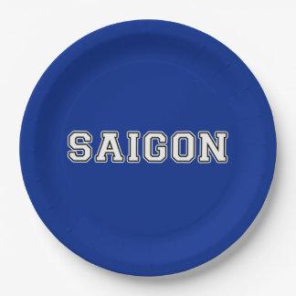 Saigon Paper Plate