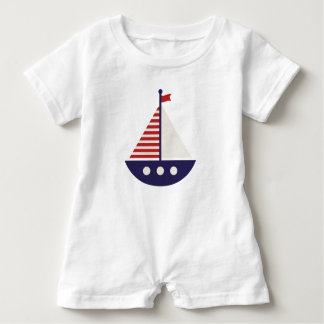 Sail Away #1 Baby Romper