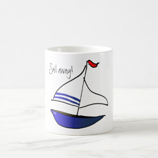 Sail Away! Coffee Mug
