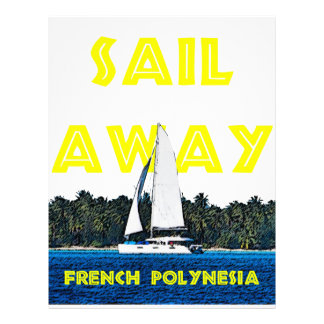 Sail Away Customized Letterhead