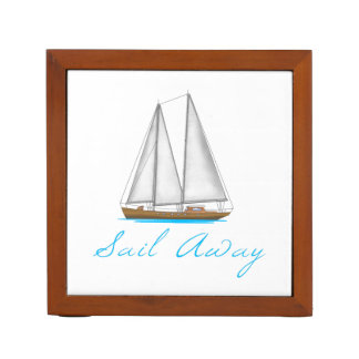 Sail Away Desk Organizer