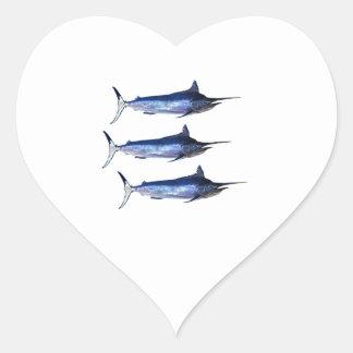 Sail Away Heart Sticker