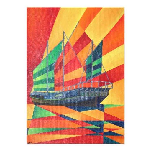 Sail Away Custom Invitations