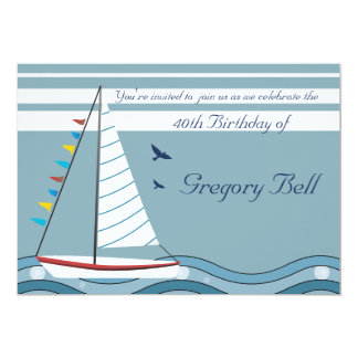 Sail Away Invitation