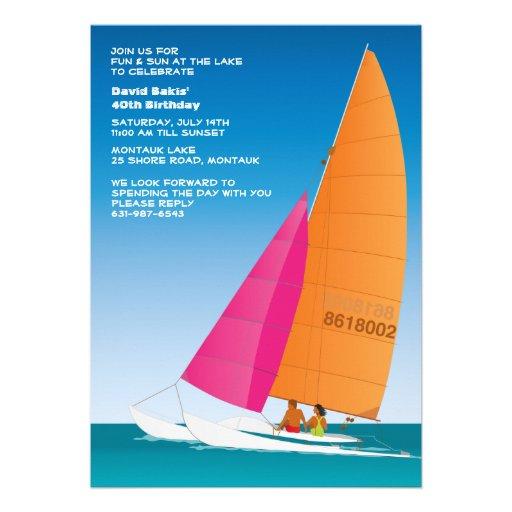 Sail Away Invitation