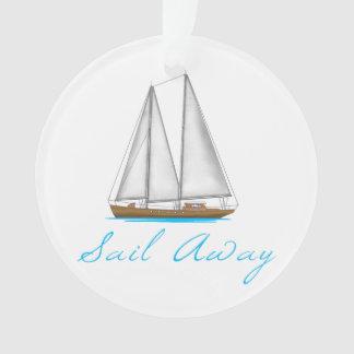 Sail Away Ornament