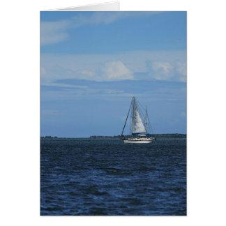 Sail Away Painterly Card