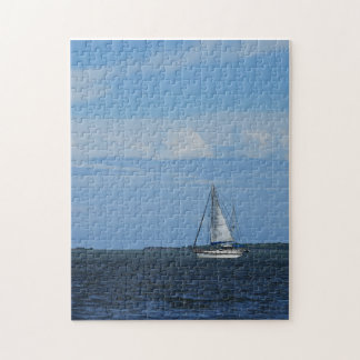 Sail Away Painterly Puzzle