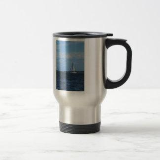 Sail Away Painterly Travel Mug