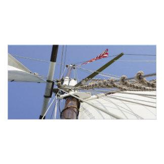 Sail Away Customized Photo Card