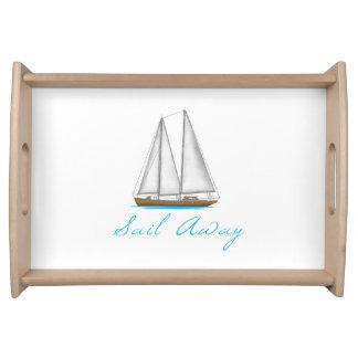 Sail Away Serving Tray