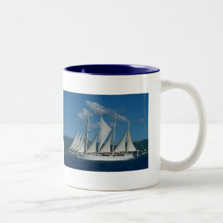 Sail Away Two-Tone Coffee Mug