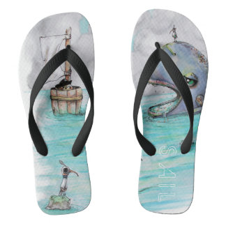 SAIL beach walkers Flip Flops