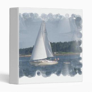 Sail Boat Bubbles Binder