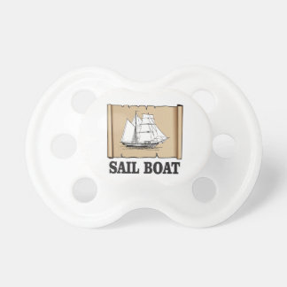sail boat of joy baby pacifier