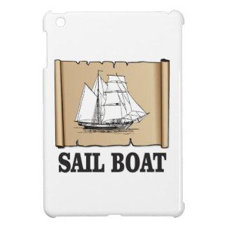sail boat of joy iPad mini case