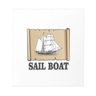 sail boat of joy notepads