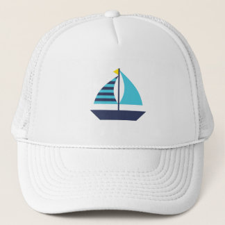Sail Boat Trucker Hat
