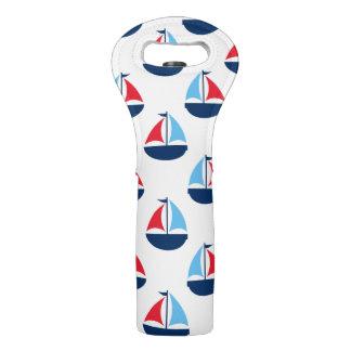 Sail Boat Wine Bag
