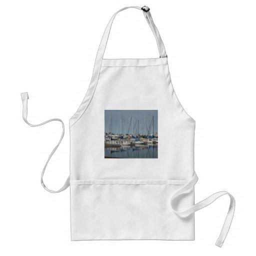 Sail Boat.Yachts Apron