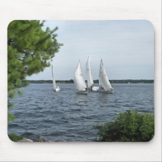 Sail Boats on the St Lawrence Mouse Pad
