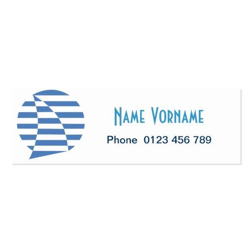 sail business card template