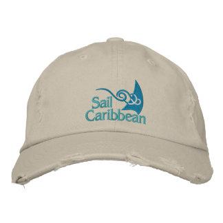 Sail Caribbean Cap Embroidered Baseball Cap
