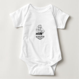 sail close to the wind safety baby bodysuit