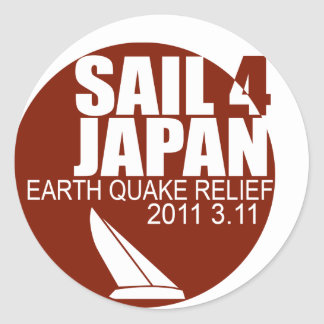 Sail for Japan Sticker