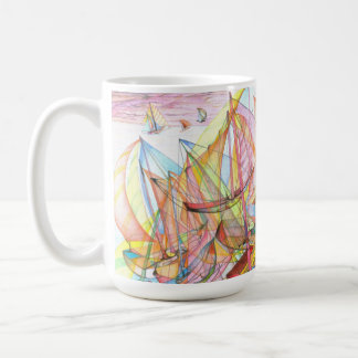 Sail in Action Coffee Mug