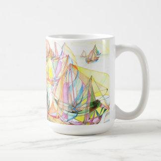 Sail in Action Mug