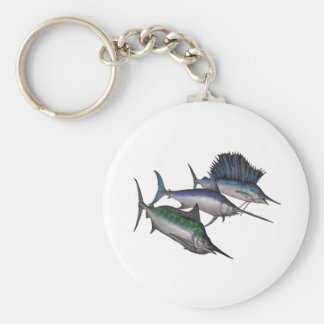 Sail into the Abyss Basic Round Button Keychain