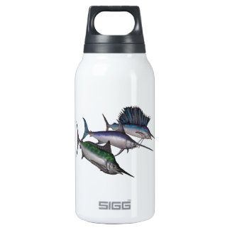 Sail into the Abyss Insulated Water Bottle