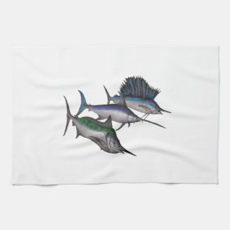 Sail into the Abyss Kitchen Towel