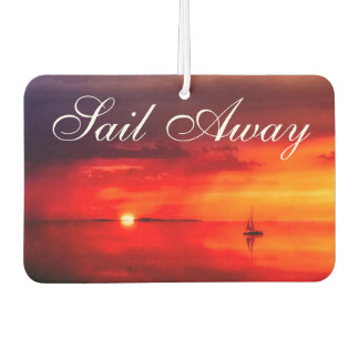 Sail into the Sunset Air Freshener