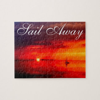 Sail into the Sunset Jigsaw Puzzle