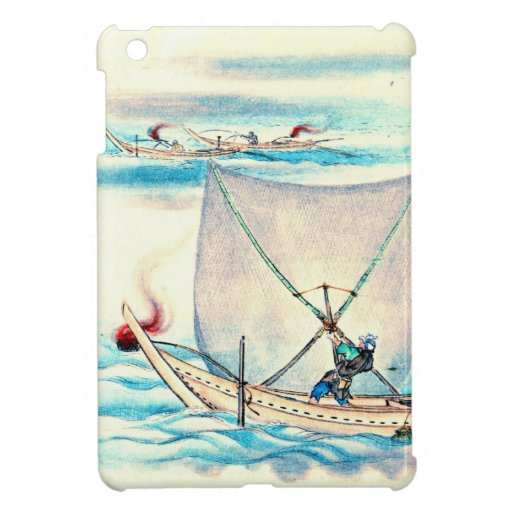 Sail Net Fishing 1878 Cover For The iPad Mini