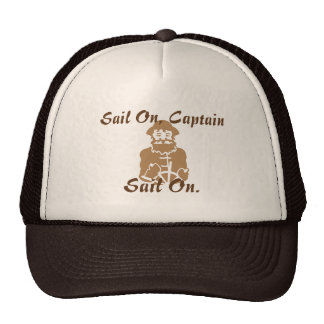 Sail On Brown Trucker Hat
