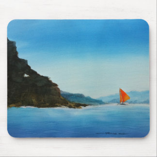 Sail On Mouse Pad