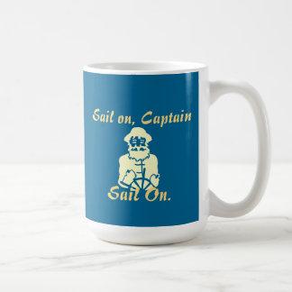 Sail on coffee mug