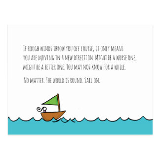 Sail on Postcard