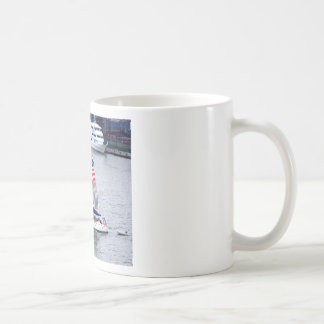 Sail on the Hudson River Classic White Coffee Mug