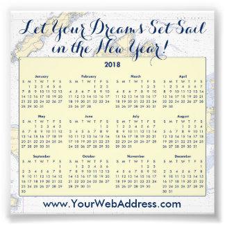 Sail Quote • Martha's Vineyard Nautical Calendar Photo Print